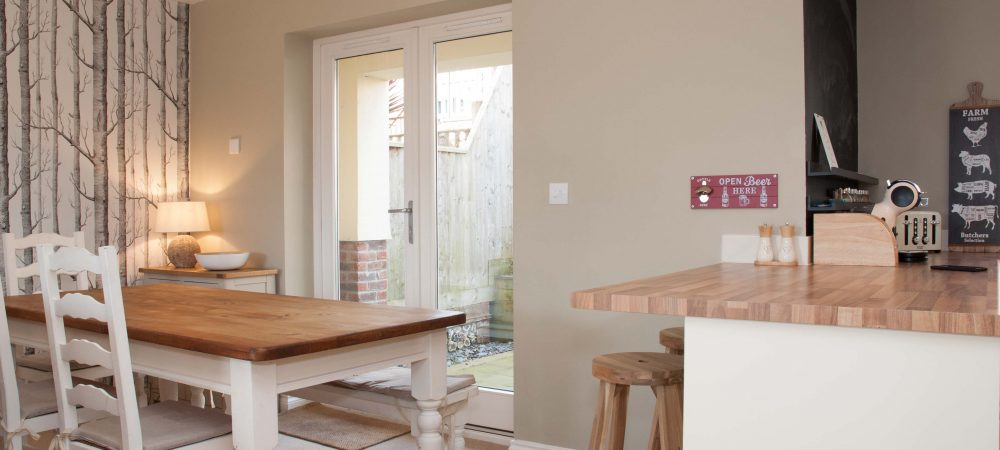 Tolpuddle Cottage Dining Area