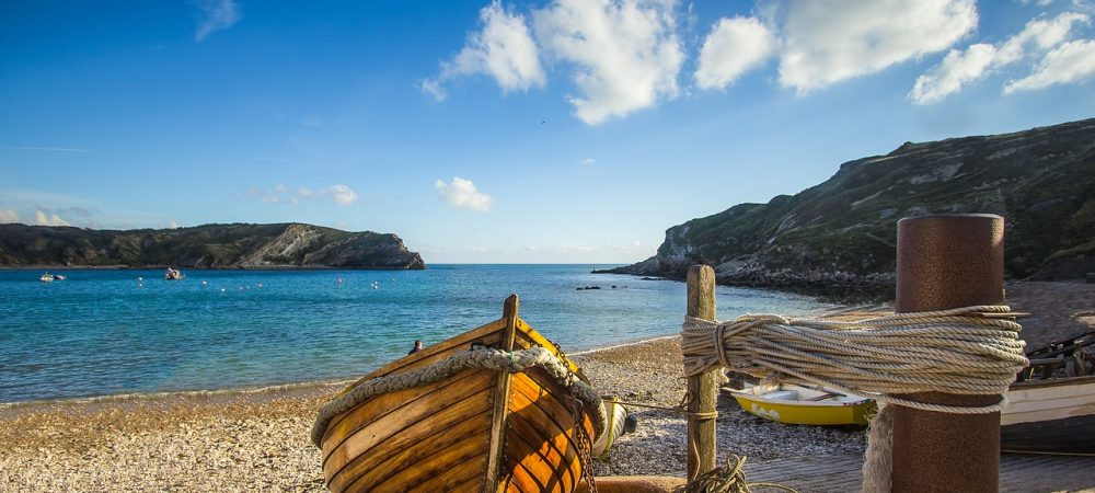 Beautiful Lulworth Cove. The perfect day out with the family during your stay at Tolpuddle Cottage