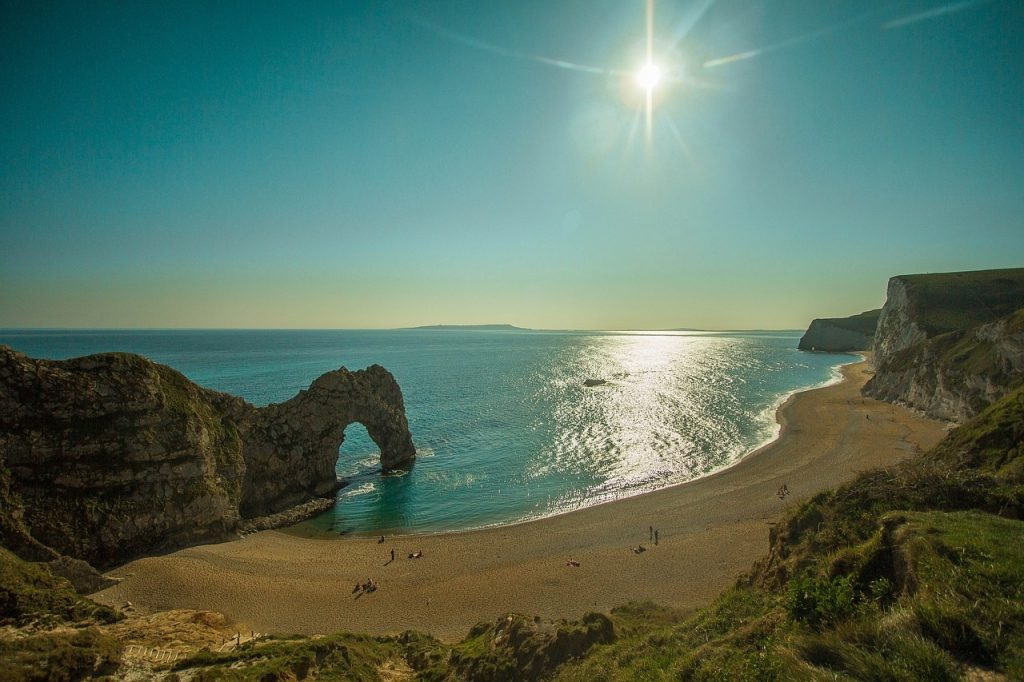 The breathtaking site of Durdle Door. A great day out just to experience it