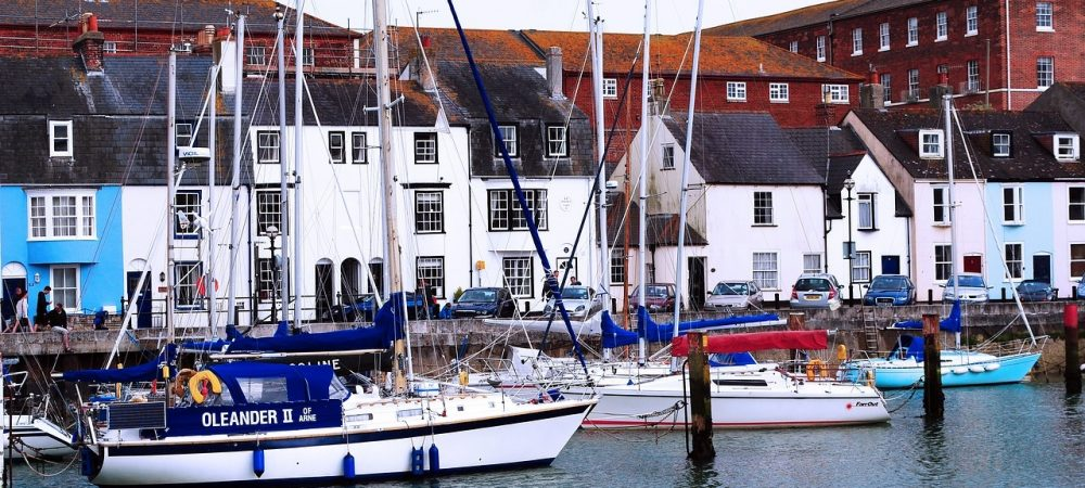 Weymouth Harbour. A great day out when staying at Tolpuddle Cottage